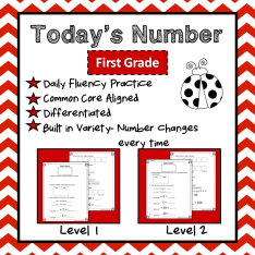 Today'sNumberFirstGradeCover